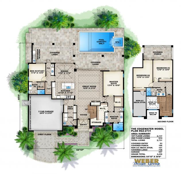 Edgewater house plan the edgewater house plan images see for Edgewater house plan