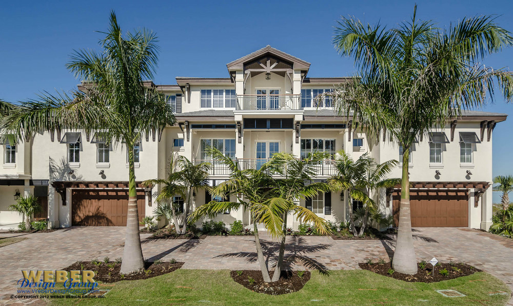 Oceanside front elevation