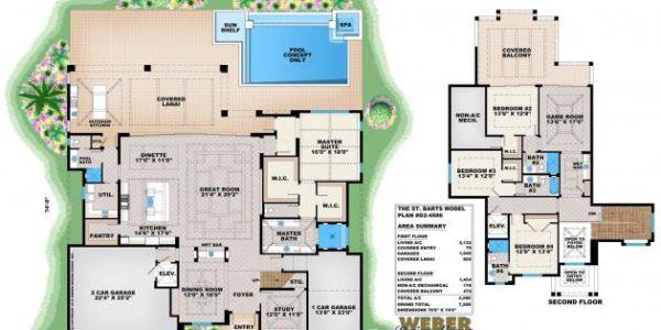 St Barts floor plan