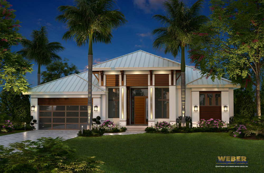 Terramar Custom Home front elevation
