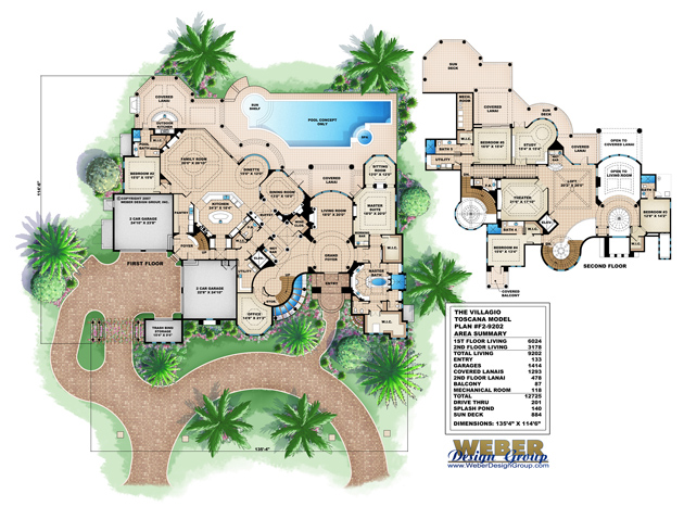 Villagio toscana budron homes for Monster mansion mobile home floor plan