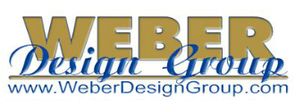 Logo for Weber Design Group