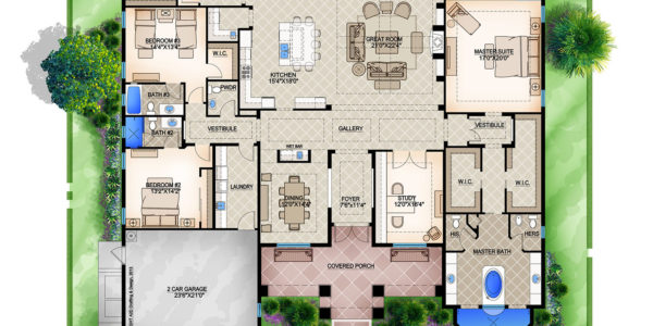 Anna II custom home model plan