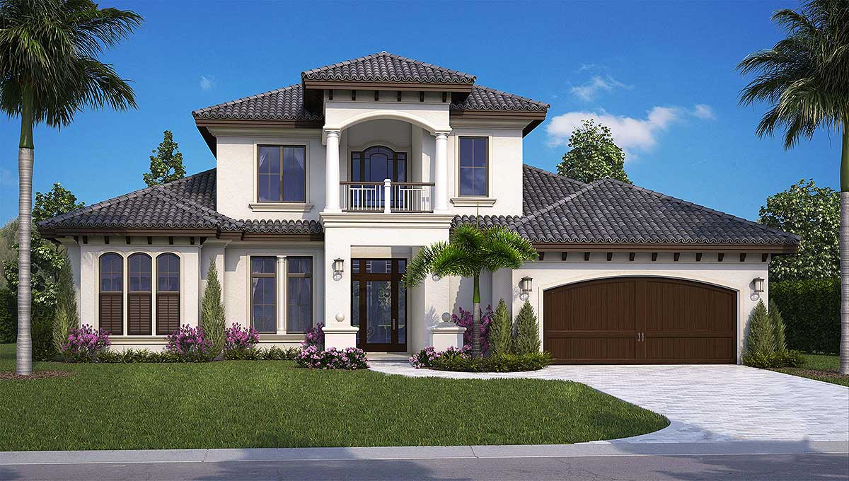 Our architectural design collection budron homes for Florida house designs