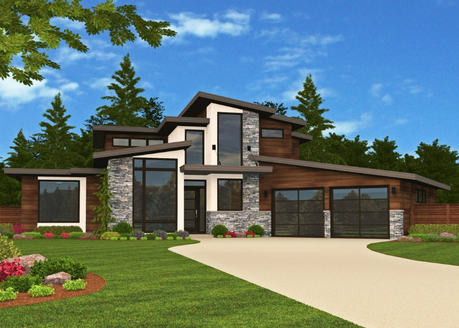 Modern Masterpiece front elevation